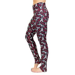 Alabama Crimson Tide Stacked Leggings