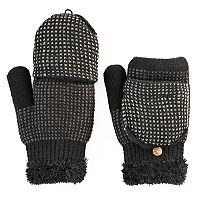 SONOMA Goods for Life™ Women's Micro Dot Convertible Flip-Top Mittens