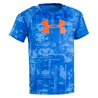 Boys 4-7 Under Armour Grid Logo Tee