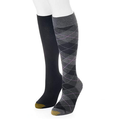 a5197cea6bf Women s GOLDTOE 2-pk. Argyle Knee-High Socks