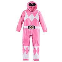 Girls 6-10 Pink Power Ranger One-Piece Pajamas