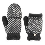SONOMA Goods for Life™ Women's Bird's-Eye Convertible Flip-Top Mittens