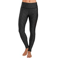 Women's Jockey Sport Fossil Jacquard High-Waisted Ankle Leggings