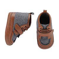 Baby Boy Carter's Wool Hiker Boot Crib Shoes