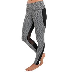 Women's Jockey Sport Jacquard Mesh High-Waisted Ankle Leggings