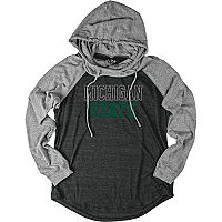 Women's Michigan State Spartans School Pride Hooded Tee