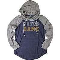 Women's Notre Dame Fighting Irish School Pride Hooded Tee