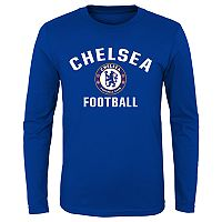 Boys 8-20 Chelsea FC Performance Long-Sleeved Tee