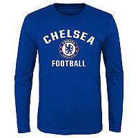 Boys 8-20 Chelsea FC Performance Long-Sleeved Tee