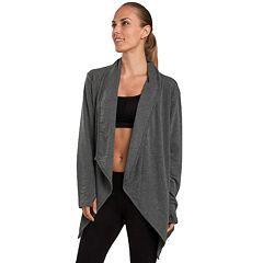 Women's Jockey Sport Tempo Thumb Hole Wrap Cardigan