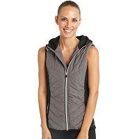 Women's Jockey Sport Ultimate Peak Hooded Puffer Vest