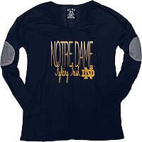 Women's Notre Dame Fighting Irish Glitter Tee