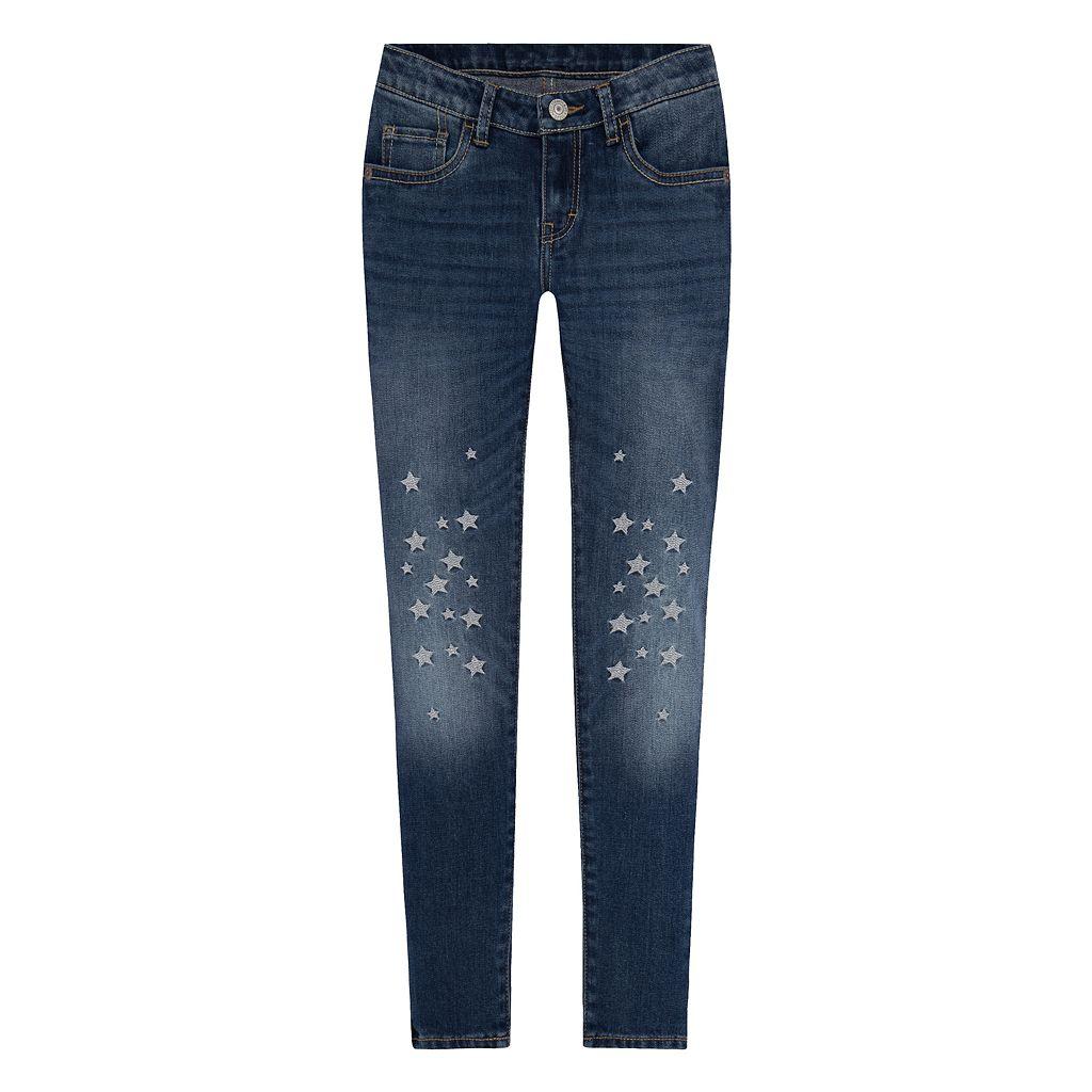 Girls 7-16 Levi's 710 Super Skinny Fit Star Embellished Jeans