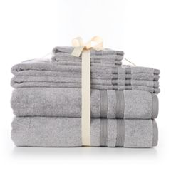 SONOMA Goods for Life™ Ultimate Hygro® Heathered 6 pc Bath Towel Set
