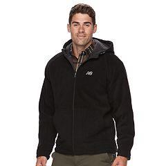 Men's New Balance Sherpa-Lined Polar Fleece Hooded Jacket
