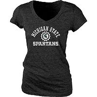 Women's Michigan State Spartans Pass Rush Tee