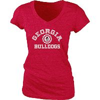 Women's Georgia Bulldogs Pass Rush Tee