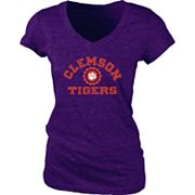 Women's Clemson Tigers Pass Rush Tee