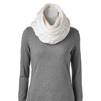 SONOMA Goods for Life™ Braided Cable-Knit Lined Cowl Scarf