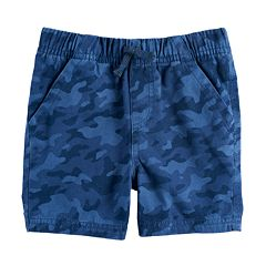 Baby Boy Jumping Beans® Camouflaged Twill Shorts