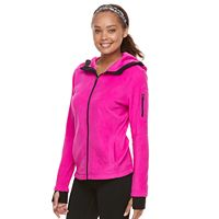 Petite Tek Gear Microfleece Full-Zip Hoodie Jacket