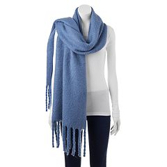 SONOMA Goods for Life™ Solid Braided Fringe Oblong Scarf