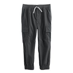 Baby Boy Jumping Beans® Solid Cargo Pants