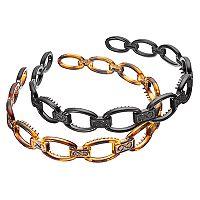 Chain Link Headband Set