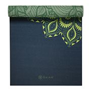 Gaiam 6mm Vine Medallion Reversible Yoga Mat