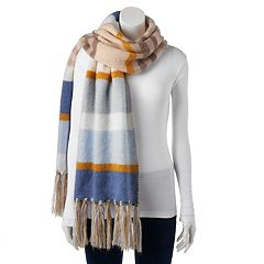 SONOMA Goods for Life™ Striped Fringed Oblong Scarf