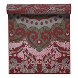 Gaiam 6mm Moroccan Swirl Reversible Om Yoga Mat