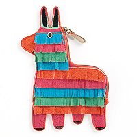 Rainbow Donkey Pinata Coin Purse