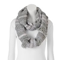 SONOMA Goods for Life™ Mixed Media Cozy Infinity Scarf