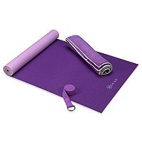 Gaiam Premium Purple Hot Yoga Kit