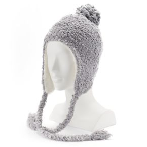 SONOMA Goods for Life? Chenille Cozy Lined Pom Heidi Hat