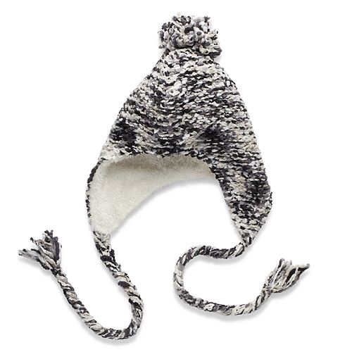 SONOMA Goods for Life™ Space-Dyed Chenille Cozy Lined Pom Heidi Hat