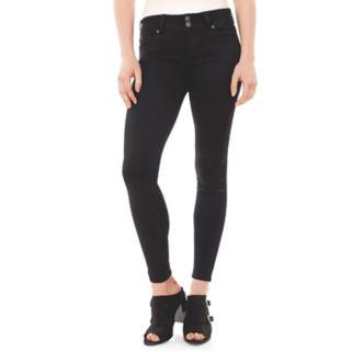 Juniors' Wallflower Black Ultra Skinny Jeans
