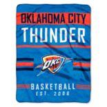 Oklahoma City Thunder Silk-Touch Throw Blanket