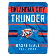 Oklahoma City Thunder Silk-Touch Throw Blanket