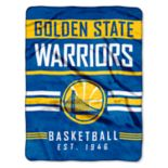 Golden State Warriors Silk-Touch Throw Blanket