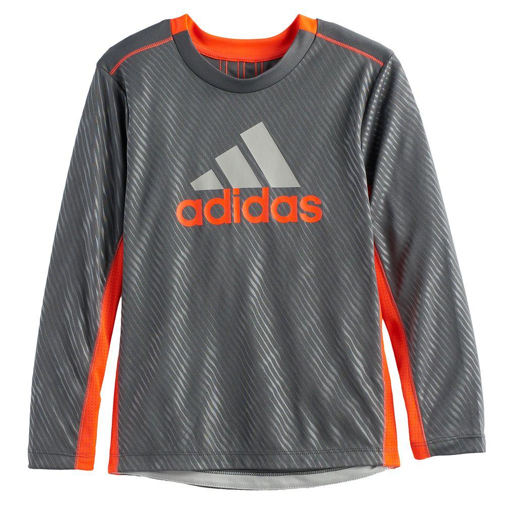 Boys 4-7x adidas Mesh High Low Tee