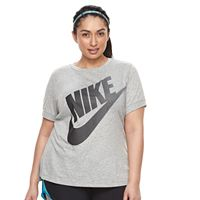 Plus Size Nike Short Sleeve Logo Tee