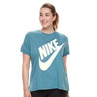 Plus Size Nike Short Sleeve Logo Tee