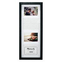 Malden 4-Opening Distressed Black Collage Frame