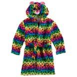 Girls 4-12 TY Beanie Boo Rainbow Hooded Robe