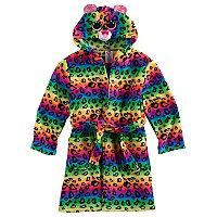Girls 4-12 TY Beanie Boo Rainbow Hooded Robe