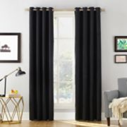 Sun Zero Blackout 1-Panel Extreme Baxter Theater Grade Window Curtain