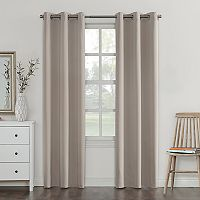 Sun Zero Fleece Lined Reversible Campus Blackout Curtain