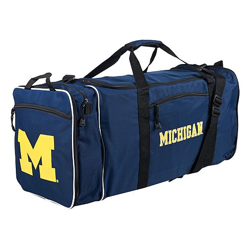 Michigan Wolverines Steal Duffel Bag