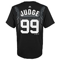 Boys 8-20 Majestic New York Yankees Aaron Judge Robe Tee